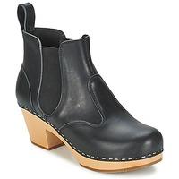 Zapatos Mujer Botines Swedish hasbeens CHELSEA Negro