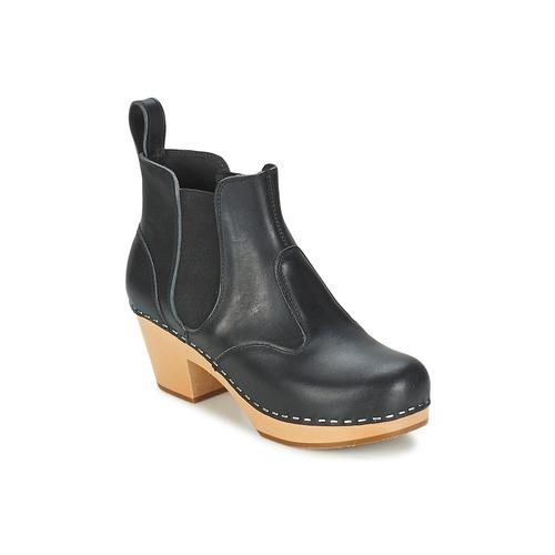 Cómodo y bien parecido Swedish hasbeens CHELSEA Negro - Envío gratis Nueva promoción - Zapatos Botines Mujer  Negro