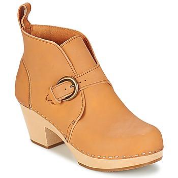 Zapatos Mujer Botines Swedish hasbeens PETRA Natural