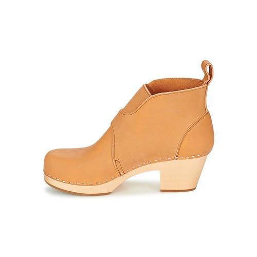 Natural Zapatos Hasbeens Mujer Swedish Petra Botines ymNwv80On