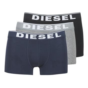 Ropa interior Hombre Boxer Diesel DAMIEN Gris / Marino / Negro