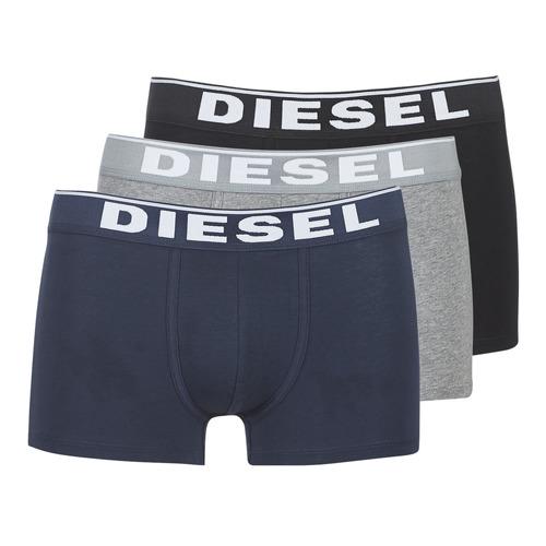 Diesel DAMIEN Gris / Marino / Negro - Envío gratis | ! - Ropa interior Boxer Hombre