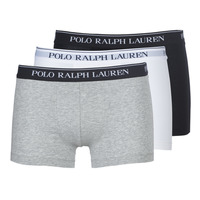 Ropa interior Hombre Boxer Polo Ralph Lauren CLASSIC-3 PACK-TRUNK Negro / Blanco / Gris