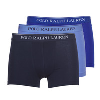 Ropa interior Hombre Boxer Polo Ralph Lauren CLASSIC-3 PACK-TRUNK Azul