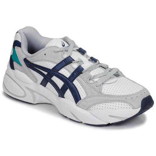 Zapatos Hombre Zapatillas bajas Asics GEL-BND Blanco / Marino