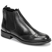 Zapatos Hombre Botas de caña baja Carlington LEVOTO Negro