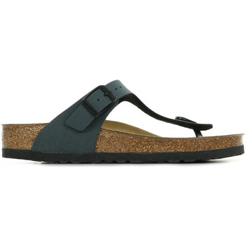 Zapatos Mujer Chanclas Birkenstock Gizeh Bs Gris