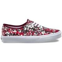 Zapatos Mujer Zapatillas bajas Vans Authentic DX Wov Blanco,Rojos,Grises