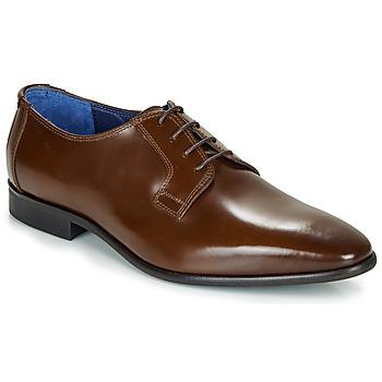 Zapatos Hombre Richelieu Azzaro VICHE Marrón