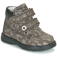 Zapatos Niña Botas de caña baja Primigi ASPY 1 Gris / Plateado