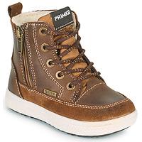 Zapatos Niño Botas de caña baja Primigi BARTH GORE-TEX Marrón