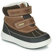 Zapatos Niños Botas de caña baja Primigi PEPYS GORE-TEX Marrón