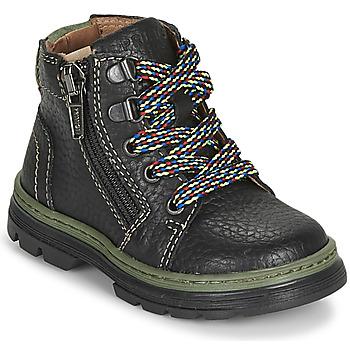Zapatos Niño Botas de caña baja Primigi PLAY TRACK Negro