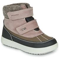 Zapatos Niña Botas de caña baja Primigi PEPYS GORE-TEX Envejecido / Rosa / Marrón