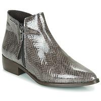 Zapatos Mujer Botas de caña baja Ippon Vintage STING HILL Gris / Barniz