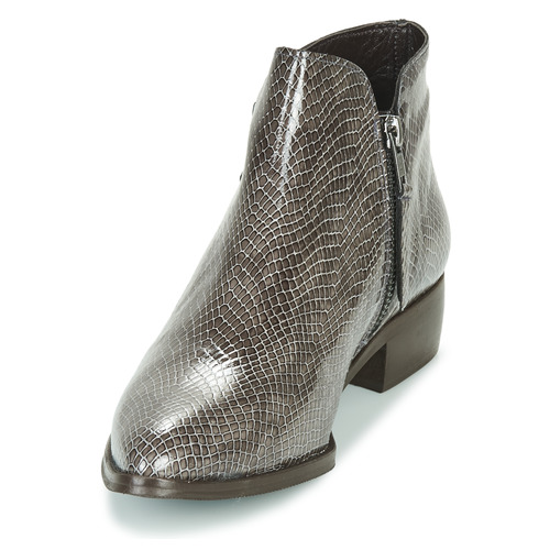 De Baja Sting Caña Hill Vintage Mujer Ippon GrisBarniz Botas Zapatos txCBshQrd