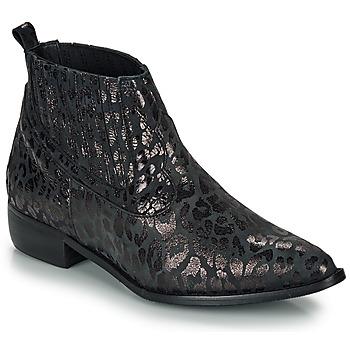 Zapatos Mujer Botas de caña baja Ippon Vintage GILL ARTY Negro
