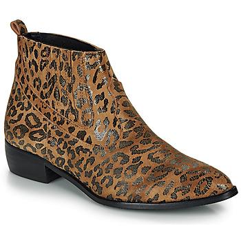 Zapatos Mujer Botas de caña baja Ippon Vintage GILL ARTY Camel
