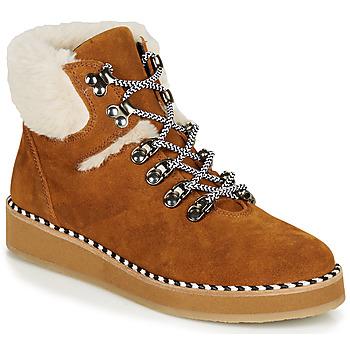 Zapatos Mujer Botas de caña baja Ippon Vintage RIDE LAND Camel