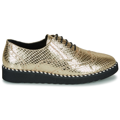 Ippon Andy Steed Derbie Zapatos Vintage Mujer Oro JKclFT13