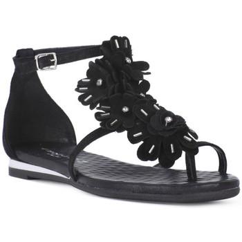 Zapatos Mujer Sandalias Sono Italiana CROSTA NERO Nero