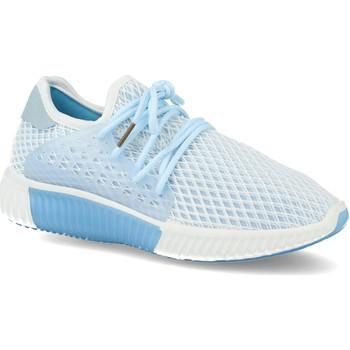 Zapatos Mujer Zapatillas bajas Sun Color AA611 Azul