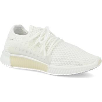 Zapatos Mujer Zapatillas bajas Sun Color AA611 Blanco