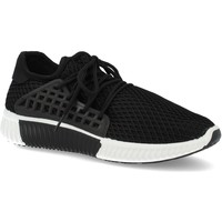 Zapatos Mujer Zapatillas bajas Sun Color AA611 Negro