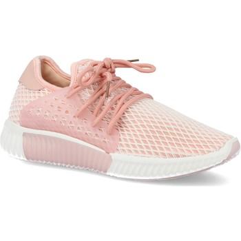 Zapatos Mujer Zapatillas bajas Sun Color AA611 Rosa