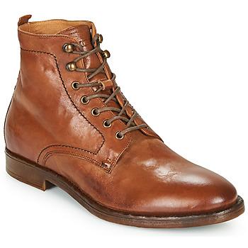 Zapatos Hombre Botas de caña baja Kost MILITANT 17 Cognac