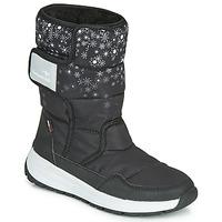 Zapatos Mujer Botas de nieve Kangaroos K-FLUFF RTX Negro / Gris