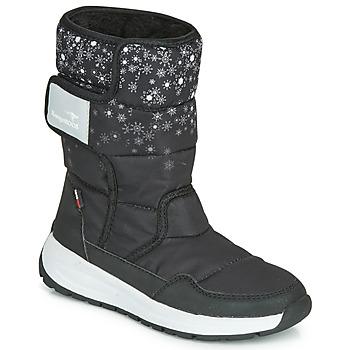 Zapatos Mujer Botas de agua Kangaroos K-FLUFF RTX Negro / Gris