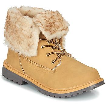 Zapatos Mujer Botas de caña baja Kangaroos RIVETER JR HI Cognac