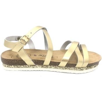 Zapatos Mujer Sandalias Amoa sandales MIMOSAS Or Oro