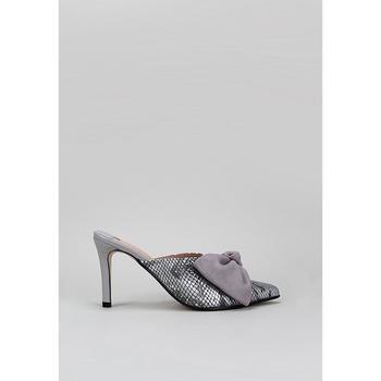 Zapatos Mujer Zuecos (Clogs) Roberto Torretta  Gris