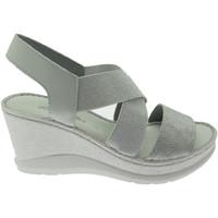 Zapatos Mujer Sandalias Riposella RIP40811gr grigio