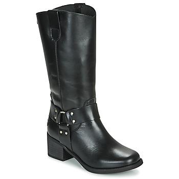 Zapatos Mujer Botas urbanas Musse & Cloud AUSTIN Negro
