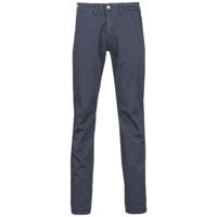 textil Hombre pantalones chinos Le Temps des Cerises JAS3 Marino