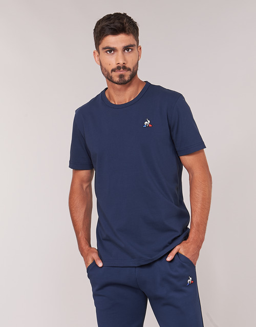 Sportif Textil N°2 Le Coq Ess AzulMarino Ss Corta Hombre Camisetas Manga Tee M wnmN80Ov