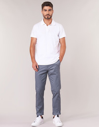 textil Hombre pantalones chinos Selected SLHSLIM Gris
