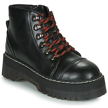 Zapatos Mujer Botas de caña baja Coolway ABLIS Negro / Rojo