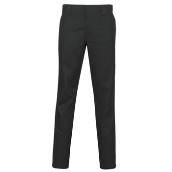 textil Hombre Pantalones con 5 bolsillos Dickies SLIM FIT WORK PNT Negro