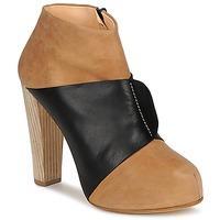 Zapatos Mujer Botines Terhi Polkki EINY Beige / Negro
