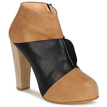 Zapatos Mujer Low boots Terhi Polkki EINY Beige / Negro