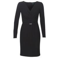 textil Mujer vestidos cortos Lauren Ralph Lauren ALEXIE Negro