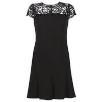 textil Mujer Vestidos cortos Lauren Ralph Lauren CALLY Negro