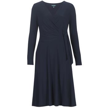 textil Mujer vestidos largos Lauren Ralph Lauren COREEN Marino