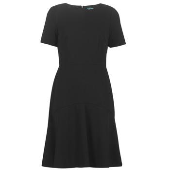 textil Mujer vestidos cortos Lauren Ralph Lauren BABA Negro