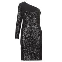 textil Mujer vestidos cortos Lauren Ralph Lauren MARRI Negro