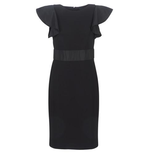 Lauren Ralph Lauren JERSEY SLEEVELESS COCKTAIL DRESS Negro - Envío gratis | ! - textil vestidos cortos Mujer